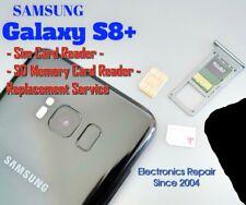 Samsung Galaxy S8 Plus Sim Card Reader SD Memory Card Reader Repair Replacement