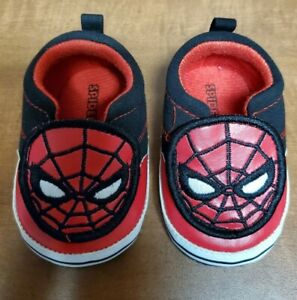 Great Condition Spider-man Baby Shoes 3-6 Months Baby Boy