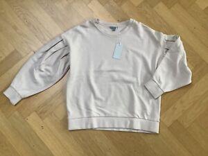 COS Damen Sweatshirt, Hellbeige, Gr. S, NEU mit Etikett
