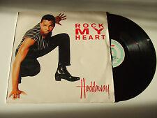 "Haddaway – Rock My Heart  - Disco Mix 12"" 45 Giri Vinile 1994 Euro House"
