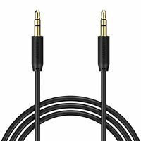 4 Ft. Aux, Stereo Auxiliary Cable, 3.5mm Audio Cable AUKEY for Home or Car