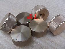 1pcs D:44mm x H:22mm aluminum volume knob amplifier knob gold color