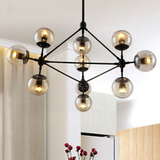 Modern Flush Mount Ceiling Light Kitchen Pendant Light Glass Chandelier Lighting