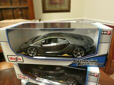 LAMBORGHINI CENTENARIO GREY 1/18 DIECAST MODEL CAR BY MAISTO  BRAND NEW !!!!