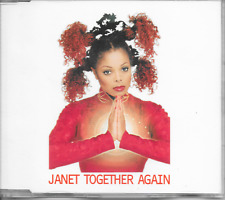 JANET JACKSON - Together again CDM 6TR House Pop 1997 (Virgin) Europe Release