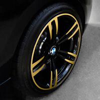 """Foliensatz f. BMW 19"""" Alufelge M Doppelspeiche 437 M2 M3 M4 Streifen Performance"""
