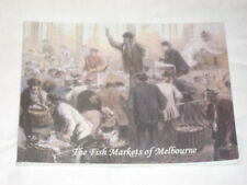 THE FISH MARKETS OF MELBOURNE : NOW SCARCE