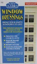 City Classics-HO Scale -- #702 Window Signs 1940-50s era for 102 Penn St Kit