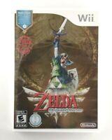 The Legend of Zelda: Skyward Sword (Nintendo Wii 2011) VG, Bonus CD, CIB, TESTED