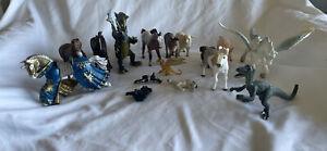 lot of Safari Schleich Papo misc brand animal figures toys