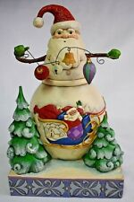 "Jim Shore ""FROSTY SANTA"" figurine - G8 - 4010625 christmas enesco"