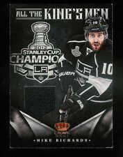2012-13 PANINI CROWN ROYALE ROYAL ALL THE KING'S MEN MIKE RICHARDS JERSEY