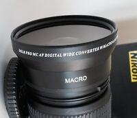 72mm WIDE ANGLE MACRO Lens For Nikon NIKKOR Zoom Lens 18-200mm 24-85mm 24-120mm
