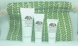 New Origins Plantscription Anti Aging Face Serums & Cream w/ Bag  $60!