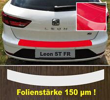 Clear Protective Foil Bumper Transparent SEAT Leon St FR Since 2017 150 Μm