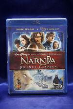 The Chronicles of Narnia: Prince Caspian (Blu-ray Disc, 2008, 3-Disc Set) New