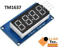 1//2//5//10 PCS TM1637 4-Bits Digital Tube LED Anzeige Clock Display Für Arduino