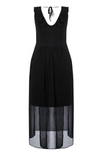 Nes - City Chic Size XS or 14 Black Tranquility Party Cocktail Maxi Dress