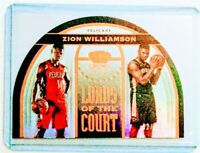2019-20 PANINI CROWN ROYALE LORDS of the COURT BRONZE ZION WILLIAMSON RC #32/99