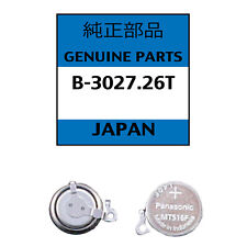Genuine Seiko Kinetic Watch Capacitor 3027 26TRechargeable Battery - NEW!