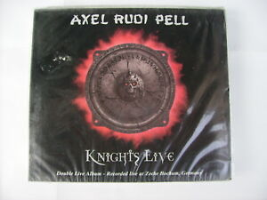 AXEL RUDI PELL - KNIGHTS LIVE - 2CD LIKE NEW CONDITION 2002