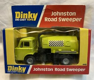 Dinky Johnston Road Sweeper 449