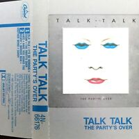 CASSETTE AUDIO TALK TALK THE PARTY'S OVER EDITION CANADA RARE COMME NEUF !!!!