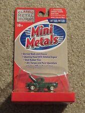 Classic Metal Works Mini Metals 50 1950 Ford Pickup Truck Green 1:87 HO MOC 1999