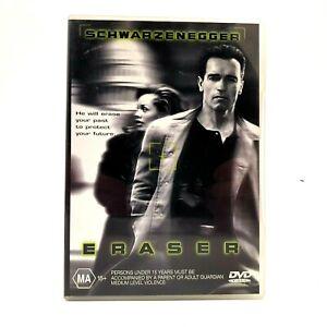 Eraser (DVD, Region 4, 1996)