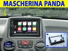 Mascherina Fiat Panda 169 2 DIN Autoradio Radio Stereo Adattatore per auto kit 1