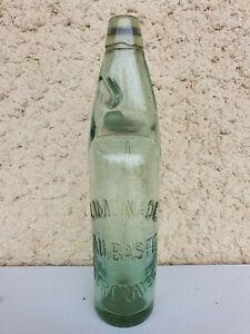 Bouteille de limonade AU BASTE OLORONAISE à fermeture à bille.