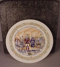 American Revolution Collector Plate ; George Washington & Lafayette Mib 1974