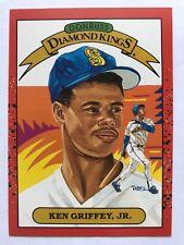 1990 Donruss Baseball Diamond Kings #4 Ken Griffey Jr Seattle Mariners NM/MT
