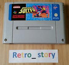 Super Nintendo SNES Dino Dini's Soccer PAL