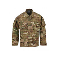 Propper ACU Coat Poly Cotton Battlerip Tactical Army Uniform Shirt - Multicam