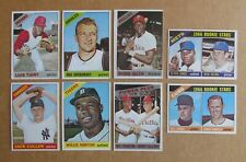 1966 TOPPS BASEBALL CARD SINGLES COMPLETE YOUR SET PICK CHOOSE UPDATED 9/2