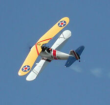 Giant Scale Liberty Sport Aerobatic Biplane Plans, Templates, Instructions 77ws