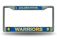 Golden State Warriors Chrome Metal License Plate Frame FREE US SHIPPING