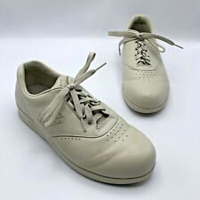 SAS Free Time G0663101 Women Beige Lace Up Comfort Shoe Size 8 1/2 W Pre Owned