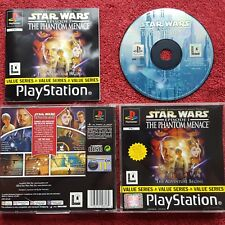STAR WARS EPISODE I THE PHANTOM MENACE VALUE SERIES PLAYSTATION PS1 PS2 PAL