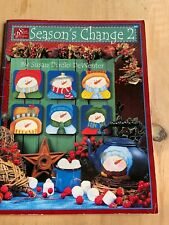 Tole Painting Instruction and Pattern Book Christmas Autumn Wooden Decor Crafts
