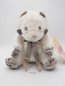 "Rascal the Raccoon A1711 Banpresto 2000 Silver Limited Plush 6"" Toy Doll japan"