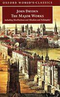 The Major Works (Inglese) - John Dryden - Libro nuovo in Offerta! in NEW Book!