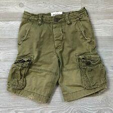 Abercrombie Kids Green Cargo Shorts Boys 14 W29