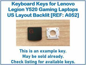 Keyboard Keys for Lenovo Legion Y520 Gaming Laptops US Backlit [REF: A052]