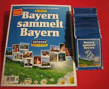 Panini Bayern sammelt Bayern 50 Tüten + Album - 250 Sticker