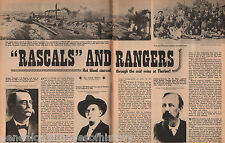 Thurber,Texas History of Texas Ranger Lawmen+Family-Finiolio,Hanaraty,Hulen,King