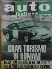 Auto Italiana 20 1964 Tutte le Gran Turismo di domani  [Sc.7A]
