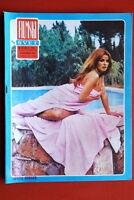 SENTA BERGER ON SEXY COVER 1969 RARE EXYUGO MAGAZINE