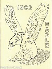 H. F. Stevens Middle School Crowley Texas 1982 Eagle Yearbook Annual